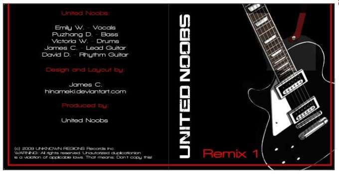 United Noobs - CD Front Sleeve by Ariarin