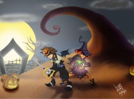 Sora and Will Halloween Costume Contest Entry by LupiViri