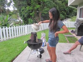 How we Make BBQ in Hawaii by Himuro-Yukina