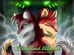 Blackblood wolves by FlyingPony