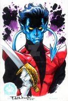 Nightcrawler art auction by ToddNauck
