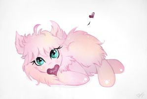 Fluffle Puff: Lovely Fuzzball by Wilvarin-Liadon