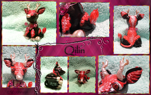 Polymer Clay: Qilin by OpalSkye