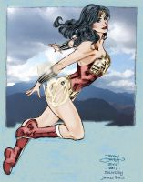 Terry Dodson WW my colors by Jimmy-B-Deviant
