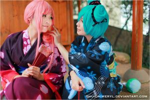 VOCALOID PROJECT DIVAF 01 by shuichimeryl