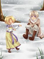 APH - Playing in the Snow by Hetalia-Canada-DJ