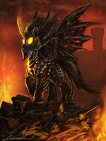 My Little Deathwing by Huussii