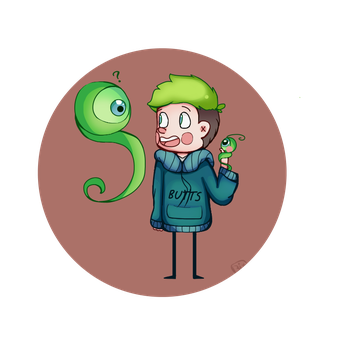 Jacksepticeye + Sam by Rrabbix