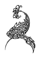 Whale-Koi Tribal by Skrayle