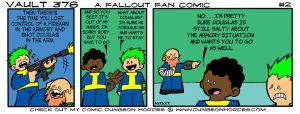 Vault 376 a Fallout Fan Comic #2 by Dungeonhordes