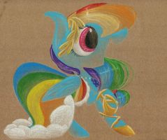 Favorite Pony Outfits: Rainbow Dash's Gala Gown by getchanoodlewet