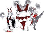 The Devil's Cheerleaders - 51 by LimeGreenSquid