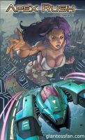 Apex Rush 2 by giantess-fan-comics