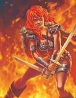 Red Sonja by timswit