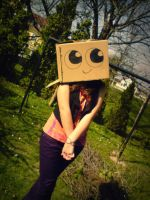 cute boxhead by retrockmonkey