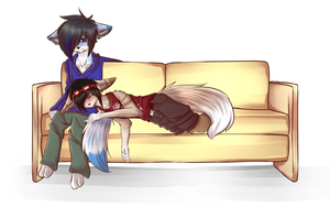 Couch MEME by MlUKY