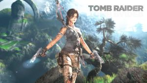 rebooted wallpapers: Tomb Raider 1 by doppeL-zgz