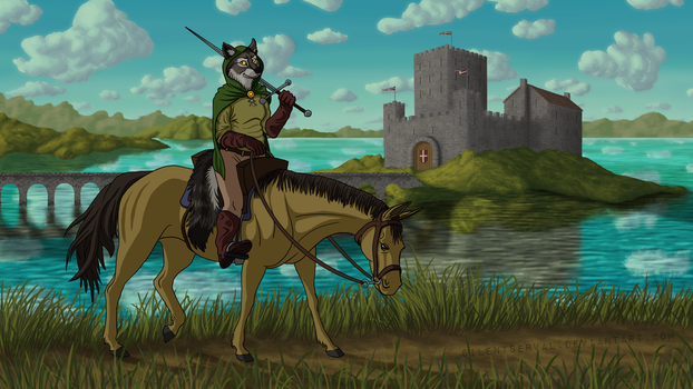 Furry Outlaw by SilentServal