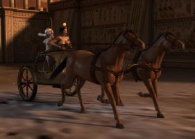 Egyptian Chariot by willdial