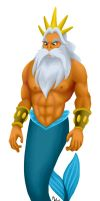 All Hearts - King Triton by LynxGriffin