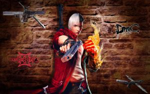 Dante. DMC 3 vs DmC 5 by Taitiii