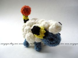 Sheep Mareep Amigurumi by AnyaZoe