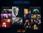 Pack PSD - ThunderBR + Akiragamer by ThunderBR