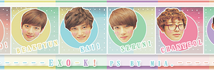 20120624 EXO-K ICON SET by lisa22757