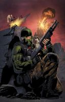 Beachhead by spidermanfan2099