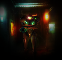 Samus Aran ,The Intergalactic Bounty Hunter by yuukithespy