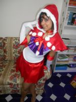Sailor Mars wishes everybody a Merry Christmas!! by KyDora47
