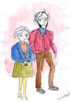 Willie Loomis and Mrs. Johnson by DemonCartoonist
