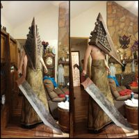 Silent Hill Film Red Pyramid cosplay (better view) by TheDarkAssassin444