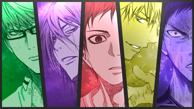 Kiseki No Sedai Wallpaper [TK] [KUROKO NO BASKET] by Dominator15
