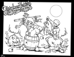 Silke Arches Harvest Moon ~ Color Me Contest by CeeAyBee