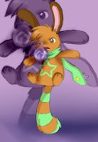 Amber used Shadow ball by The-Chibster