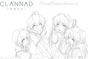 Clannad Friends by PrincessofElectronic