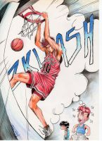 slam dunk by Crike99