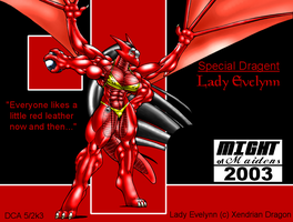 MoM 2003 - Lady Evelynn by DocWolph