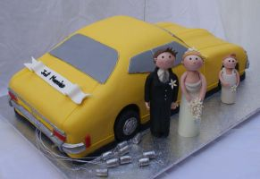 Ford Wedding Car by Verusca