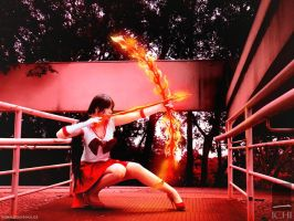 FuuCosplay | SAILOR MARS by ronaldoichi