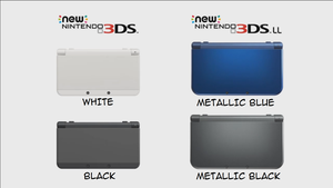 New Nintendo 3DS And New 3DS XL Confirmed! by TheWolfBunny