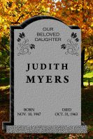 Judith Myers Tombstone by goodben