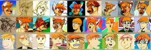 my artist growth through the years by JLindseyB