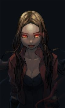 Scarlet Witch by honeyjung