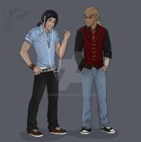 Lyo and Pirate..nonotreally XD by abosz007