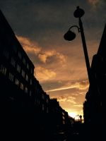 Sunset down town London by IoannisCleary