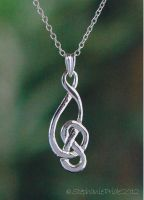 Assymetric Celtic Knot Pendant by StephaniePride