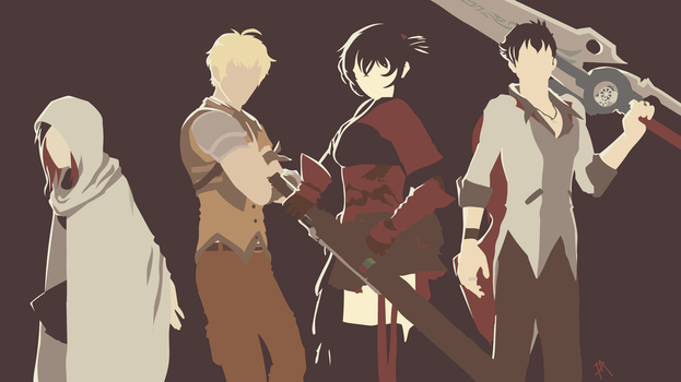 Team STRQ Wallpaper by Plagued-art