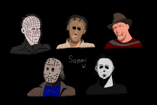 Horror Legends by SerraBritt